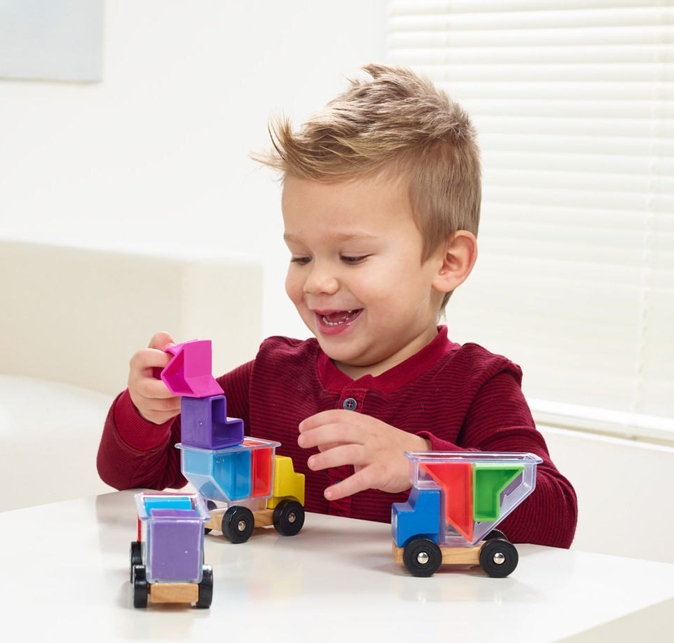 Smart Games Preschool Puzzle Game SG035 Trucky 3