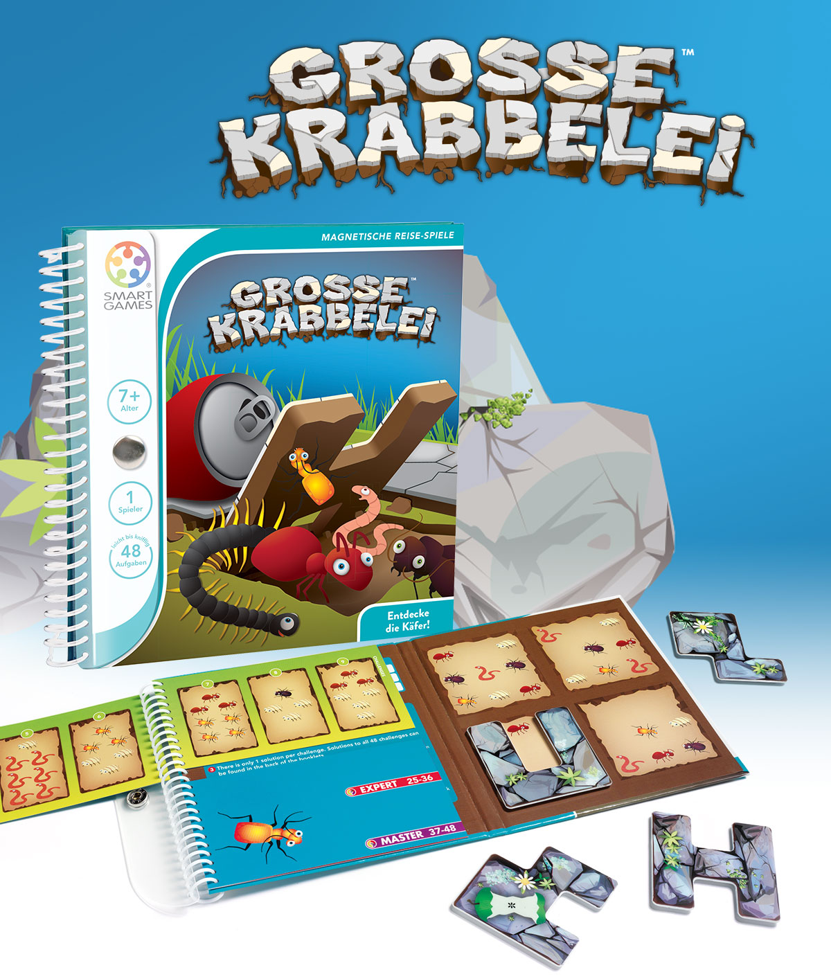 Große Krabbelei