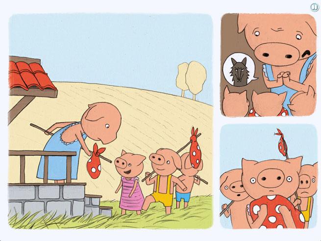 Trois Petits Cochons eBook
