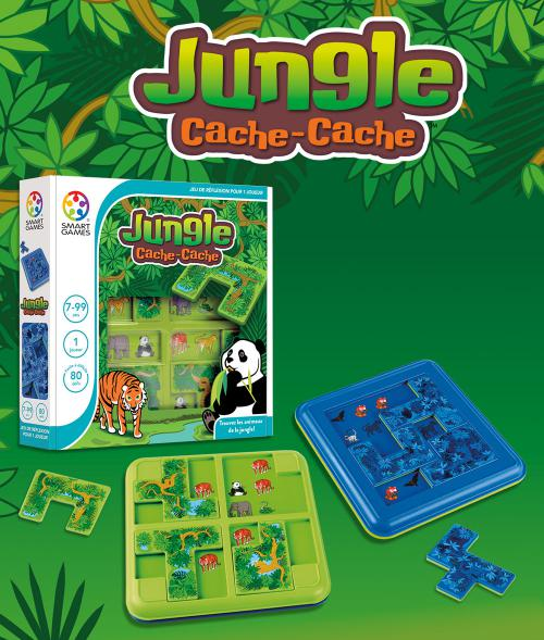 Jouez à Jungle Cache - Cache